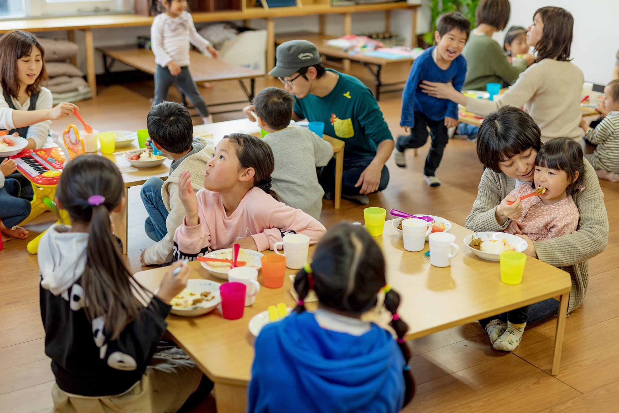 食堂 ボランティア 子ども