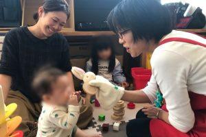 小さな子と遊ぶおもちゃコンサルタント